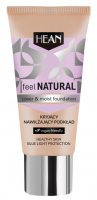 HEAN - Feel Natural Cover & Moist Foundation - Kryjąco-nawilżający podkład do twarzy - 30 ml