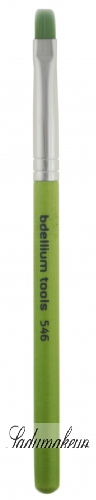 Bdellium tools - Green Bambu Series - Square Lip Brush - 546B