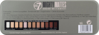 W7 - MIGHTY MATTES - NATURAL NUDES - MATTE EYE COLOUR PALETTE - Paleta 12 matowych cieni do powiek