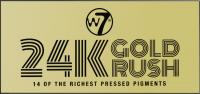 W7 - 24K GOLD RUSH - 14 OF THE RICHEST PRESSED PIGMENTS - Paleta 14 cieni do powiek