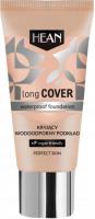 HEAN - LONG COVER Waterproof Foundation - Kryjący, wodoodporny podkład do twarzy - 30 ml