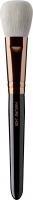 Hakuro - Pędzel do rozświetlacza, różu i bronzera - J425 (Czarna rączka)