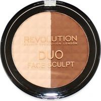 Makeup Revolution - DUO FACE SCULPT - Zestaw do konturowania twarzy - 15 g