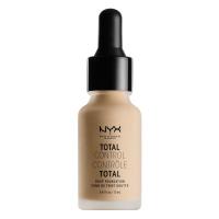 NYX Professional Makeup - TOTAL CONTROL - DROP FOUNDATION - Podkład z zakraplaczem - TCDF06.5 - NUDE - TCDF06.5 - NUDE