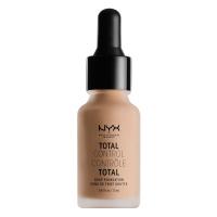 NYX Professional Makeup - TOTAL CONTROL - DROP FOUNDATION - Podkład z zakraplaczem - TCDF07.5 - SOFT BEIGE - TCDF07.5 - SOFT BEIGE