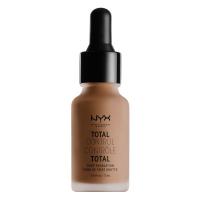 NYX Professional Makeup - TOTAL CONTROL - DROP FOUNDATION - Podkład z zakraplaczem - TDCF16.5 - NUTMEG - TDCF16.5 - NUTMEG