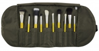 Bdellium tools - Studio Line - Mineral 10pc. Brush Set - Zestaw 10 pędzli do makijażu mineralnego w etui