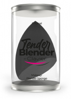 Clavier - Tender Blender - Skośnie ścięta gąbka do makijażu - Czarna