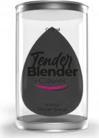 Clavier - Tender Blender - Gąbka do makijażu - Jajeczko - Czarna