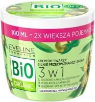 Eveline Cosmetics - BIO ORGANIC - Silnie przeciwzmarszczkowy krem do twarzy (cera dojrzała, również wrażliwa) - 100 ml