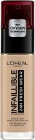 L'Oréal - INFALLIBLE - 24H FRESH WEAR - Podkład do twarzy - 145 - ROSE BEIGE - 145 - ROSE BEIGE