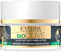 Eveline Cosmetics - BIO OLIVE - INTENSELY NOURISHING CREAM-LIFTING - Silnie odżywczy krem-lifting - Dzień / Noc - 50 ml