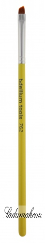 Bdellium tools - Studio Line - Angled Brow - Pędzel do brwi i eyelinera - 762S