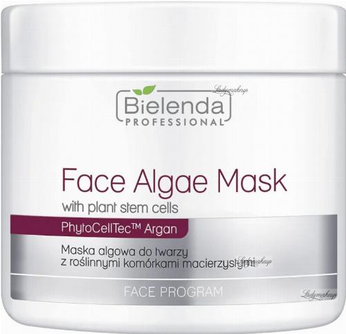 Bielenda Professional - Face Algae Mask - Algae face mask with plant stem cells - 190 g