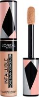 L'Oréal - INFAILLIBLE - MORE THAN CONCEALER - FULL COVERAGE CONCEALER - Korektor do twarzy w płynie - 327 CASHMERE - 327 CASHMERE