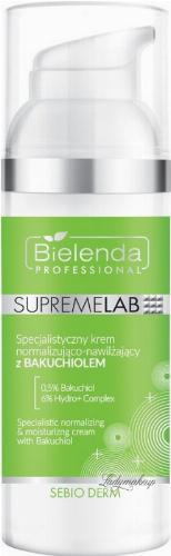 Bielenda Professional - SUPREMELAB - Sebio Derm - Specialistic Normalizing & Moisturizing Cream With Bakuchiol - Specjalistyczny krem normalizująco-nawilżający z Bakuchiolem - 50 ml