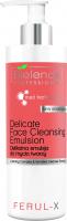 Bielenda Professional - FERUL-X Delicate Face Cleansing Emulsion - Gentle face cleansing emulsion - 160 g