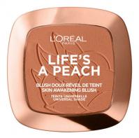 L'Oréal - LIFE'S A PEACH BLUSH - Róż do policzków - 01 Peach Addict