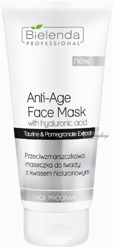 Bielenda Professional - Anti-Age Face Mask - Anti-wrinkle face mask with hyaluronic acid - 175 ml