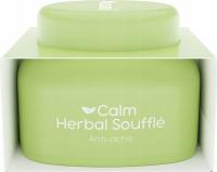 Nacomi - Calm Herbal Souffle - Kremowy suflet do twarzy wyciszający - Na trądzik - 50 ml