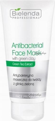 Bielenda Professional - Green Clay Antibacterial Face Mask - Face mask with green clay - Antibacterial - 150 g