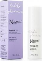 Nacomi Next Level - Retinol 1% - Serum do twarzy z 1% retinolem - Noc - 30 ml