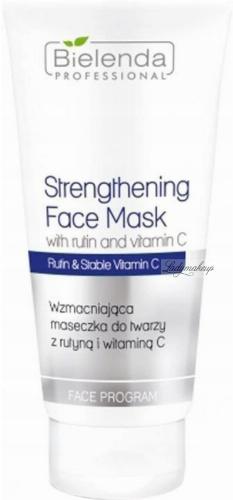 Bielenda Professional - Strengthening Face Mask - Strengthening face mask with routine and vitamin C - 150 g