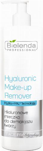 Bielenda Professional - Hyaluronic Make-Up Remover Milk - Hyaluronic facial cleansing milk - 500 ml