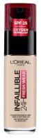 L'Oréal - INFALLIBLE - 24H FRESH WEAR - Podkład do twarzy - 180 - ROSE SAND - 180 - ROSE SAND