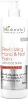 Bielenda Professional - Revitalizing Hand & Nail Balm - Revitalizing hand and nail balm with shea butter - SPF6 - 500 ml