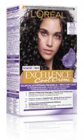 L'Oréal - EXCELLENCE Cool Creme - 3.11 Ultra Ash Dark Brown - Kremowa koloryzacja o zaawansowanej, potrójnej ochronie - Ultrapopielaty Ciemny Brąz