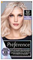 L'Oréal - Préférence - Permanent Haircolor 9.12 SIBERIA - Hair dye - Permanent coloring - Very Light Ash Beige Blonde