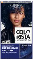 L'Oréal - COLORISTA Permanent Gel - Permanent hair coloring - #BLUEBLACK