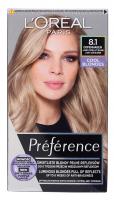 L'Oréal - Préférence - Permanent Haircolor 8.1 COPENHAGEN - Hair dye - Permanent coloring - Light Ash Blonde
