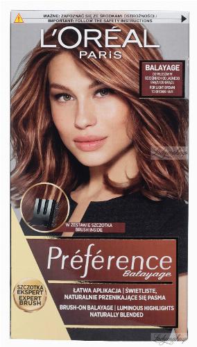 L'Oréal - Préférence Balayage - Zestaw do tworzenia efektu Balejażu