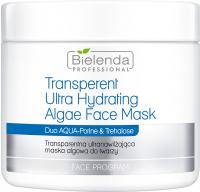 Bielenda Professional - Transparent Ultra Hydrating Algae Face Mask - Transparentna ultranawilżająca maska algowa do twarzy - 190 g