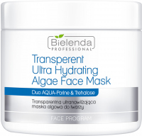 Bielenda Professional - Transparent Ultra Hydrating Algae Face Mask - Transparent ultra-moisturizing algae face mask - 190 g
