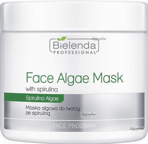 Bielenda Professional - Face Algae Mask - Algae face mask with spirulina - 190 g