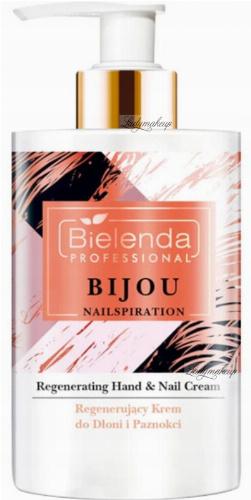 Bielenda Professional - BIJOU NAILSPIRATION - Regenerating Hand & Nail Cream - Regenerating hand and nail cream - 300 ml