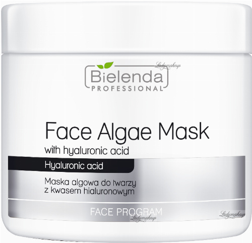 Bielenda Professional - Face Algae Mask - Algae face mask with hyaluronic acid - 190 g