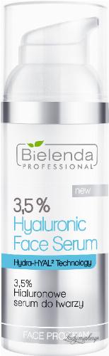 Bielenda Professional - 3.5% Hyaluronic Face Serum - 3.5% Hyaluronic Face Serum - 50 g