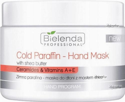 Bielenda Professional - Cold Paraffin Hand Mask - Zimna parafina - Maska do dłoni z masłem shea - 150 g