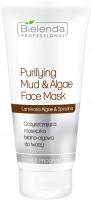 Bielenda Professional - Purifying Mud & Algae Face Mask - Cleansing mud and algae face mask - 150 g