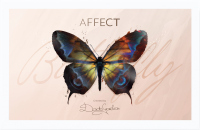 AFFECT - Butterfly Makeup Palette - Paleta do makijażu by Dorota Gardias