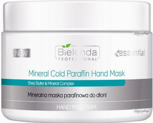 Bielenda Professional - Mineral Cold Paraffin Hand Mask - Mineral paraffin hand mask - 150 g