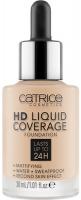 Catrice - HD LIQUID COVERAGE FOUNDATION - Wodoodporny podkład kryjący do twarzy - 30 ml