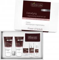Bielenda Professional - Power of Nature - Detoxifying Regenerating Treatment Set - Zestaw kosmetyków do zabiegu detoksykująco-regenerującego twarzy