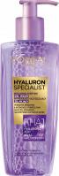 L'Oréal - HYALURON SPECIALIST REPLUMPING PURIFYING GEL WASH - Wypełniająco-oczyszczający żel myjący do twarzy - 200 ml