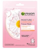 GARNIER - HYDRA BOMB TISSUE MASK - SUPER HYDRATING & SOOTHING - Moisturizing and soothing mask on fabric - Chamomile & Hyaluronic Acid