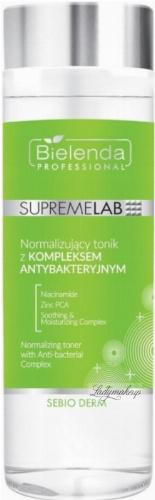 Bielenda Professional - SUPREMELAB - Sebio Derm - Normalizing Toner With Anti-bacterial Complex - Normalizing toner with an antibacterial complex - 200 ml
